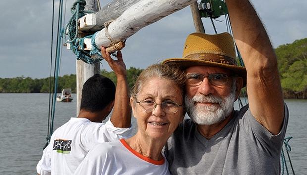 """""""Queremos deixar um legado para a terceira idade do Brasil e do mundo, mostrar que a vida não acaba aos 70, 80, 90 e tudo depende da alma de aventureiro que mora dentro de cada um de nós"""""""
