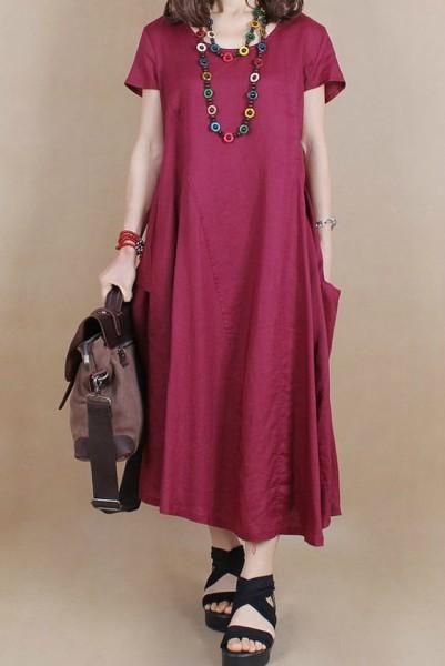 9184002791b6 Alguns modelos de vestidos para você que já passou dos 50 anos - 50 ...
