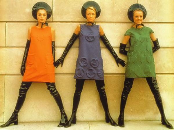 Da coleção apresentada por Pierre Cardin em 1968
