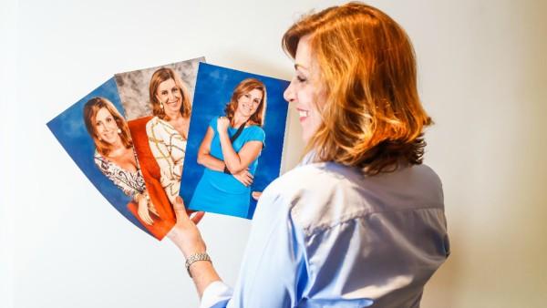 O sucesso de fotos de viagem entre  amigos e familiares levou-a a procurar uma agência de modelos