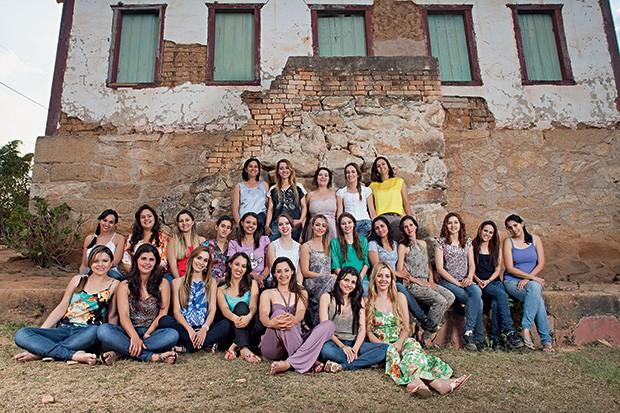 A comunidade de mulheres foi formada no século 18