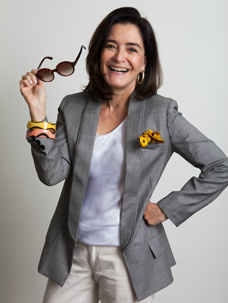 Glória é uma das consultoras de moda  mais requisitadas do Brasil
