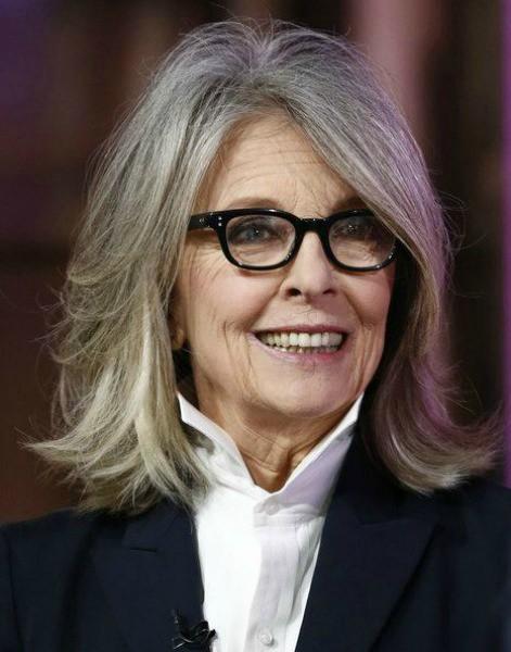 Amo este cabelo da atriz Diane Keaton
