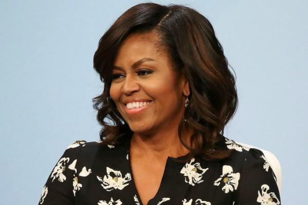 Michelle Obama fotografada em abril deste ano