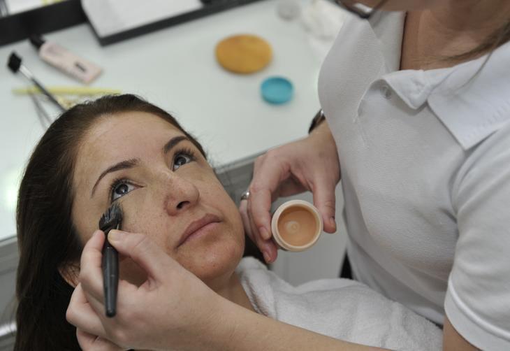 É preciso prestar atenção à maquiagem