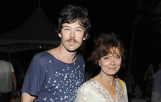 A atriz Susan Sarandon, perto de fazer 70 anos, namorou durante cinco anos Jonathan Bricklin, 31 a menos do que ela