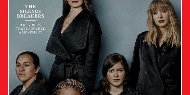 Time homenageia mulheres que romperam silêncio contra assédio