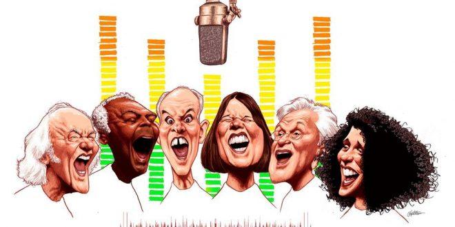 O que aconteceu com as vozes dos cantores que passaram dos 70