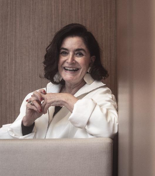 0db436497bbec Aos 75 anos, a empresária e consultora continua sendo forte referência  quando o assunto é moda – Foto  Marco Favero Diário Catarinense