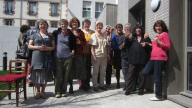 """Foto de Francesas com mais de 60 anos se juntam e criam um """"anti-asilo"""""""