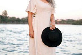Marina Pascon, modelo descoberta depois dos 50, no Facebook