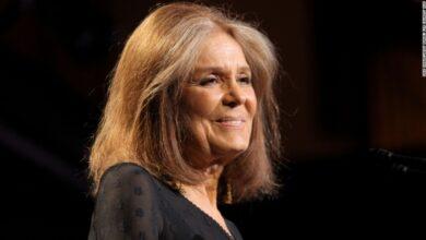 Foto de Gloria Steinem: símbolo maior da luta feminina por igualdade