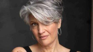 Foto de Todo tipo de corte para você que aderiu aos cabelos grisalhos