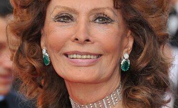Foto de Comercial com Sophia Loren linda aos 81 volta a circular na rede