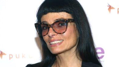 Foto de Norma Kamali, estilista, 75,   revela como mantém esta aparência