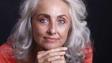 Foto de Vita Christoffel, a modelo que abraçou a carreira depois dos 50