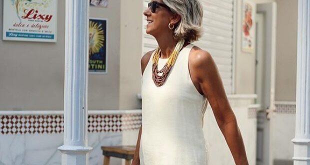 Luciane Cacinsky ensina como se vestir bem no nosso calor
