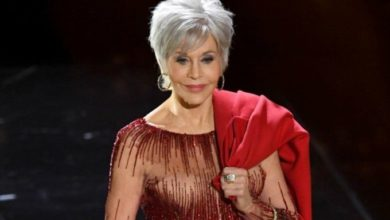 Foto de De repente, me deparo com os cabelos brancos de Jane Fonda