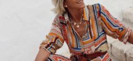 As charmosas roupas de verão da elegante Margarita Argüelles
