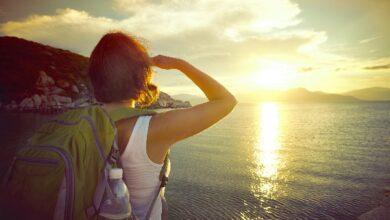Foto de Olhar para pontos distantes beneficia muito os olhos e a saúde