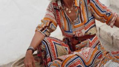 Foto de As charmosas roupas de verão da elegante Margarita Argüelles