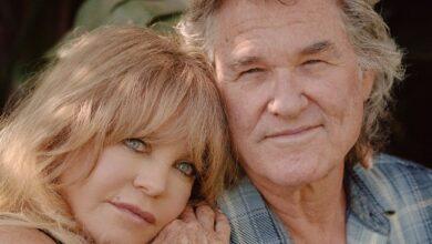 Foto de Juntos há 37 anos, Kurt Russell e Goldie Hawn estão em filme da Netflix